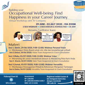Occupational Well-being Workshop by 3V Company Flyer