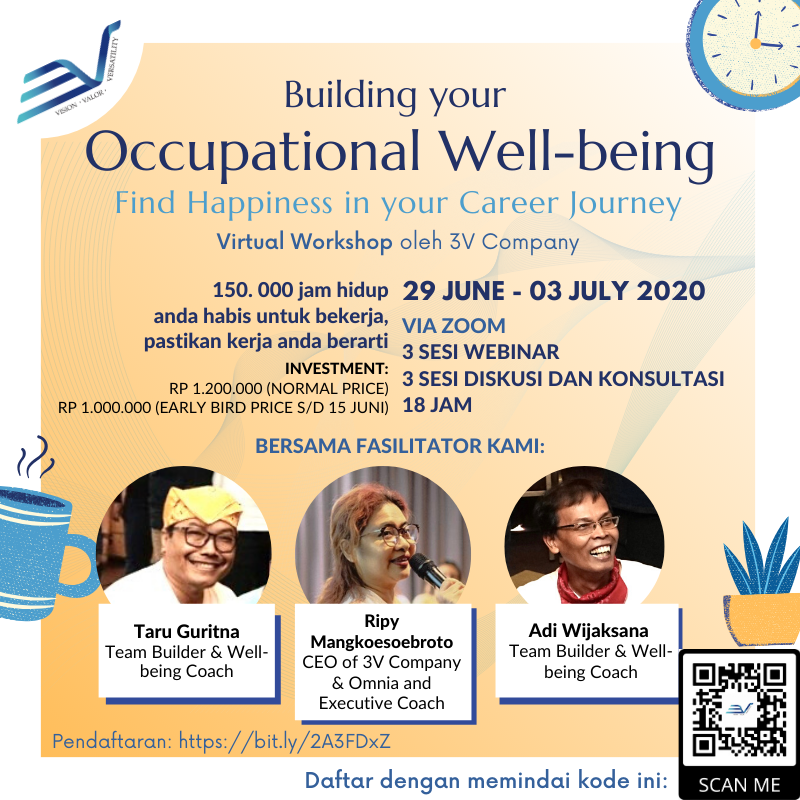 Occupational Well-being Virtual Workshop